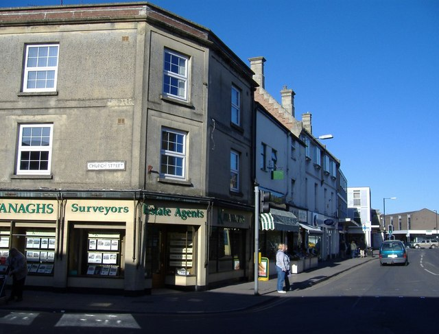 Corner of High Street and Church Street