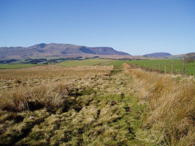 Moorland on Gwastadros.