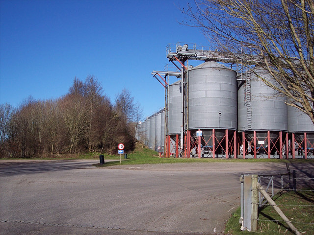 Wiltshire Grain's Storage Facility at Rollestone Camp