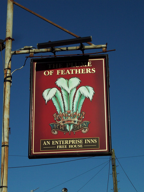 The Plume of Feathers Sign