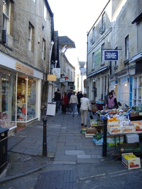 Shopping walkway, Bradford on Avon