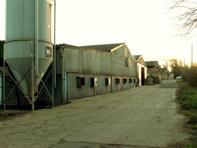 Hall Farm, close to Boulge church