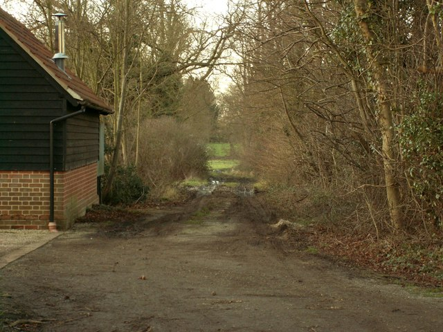 Footpath to Boulge Wood