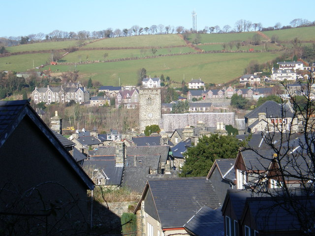 Across the rooftops to St Mary's.
