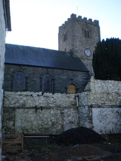 Rear view of St Mary's.