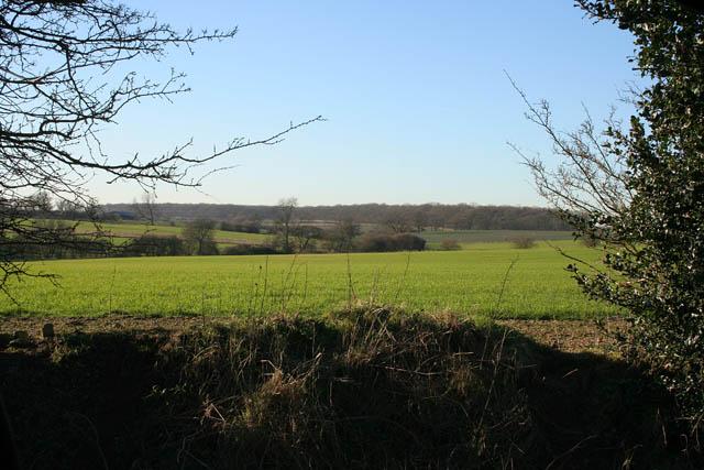 Farmland near Irnham