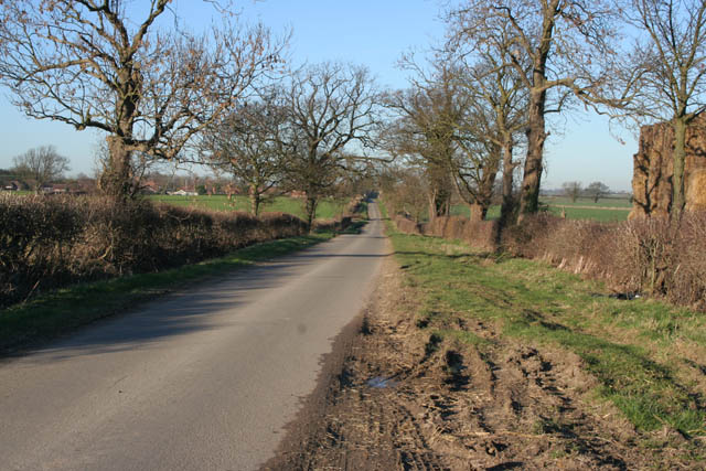 Country road to Ingoldsby
