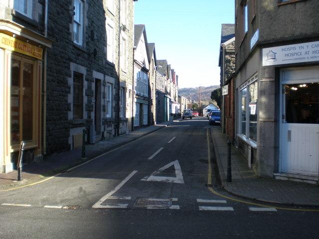 Heol Glyndwr - Glyndwr St.