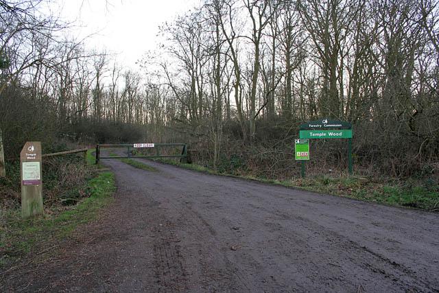 Temple Wood near Aslackby