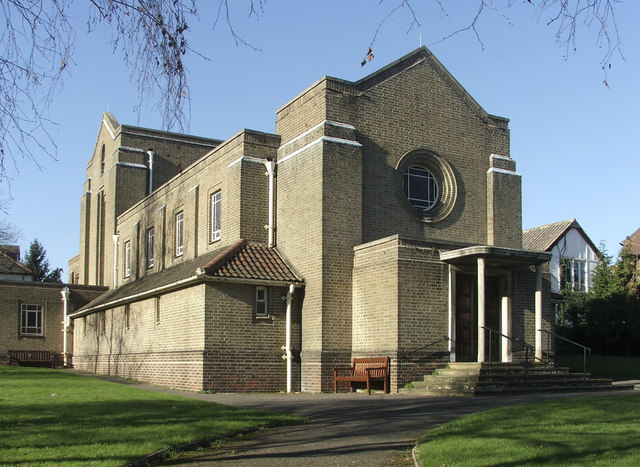 St Peter's Church, Vera Avenue, Grange Park, N21