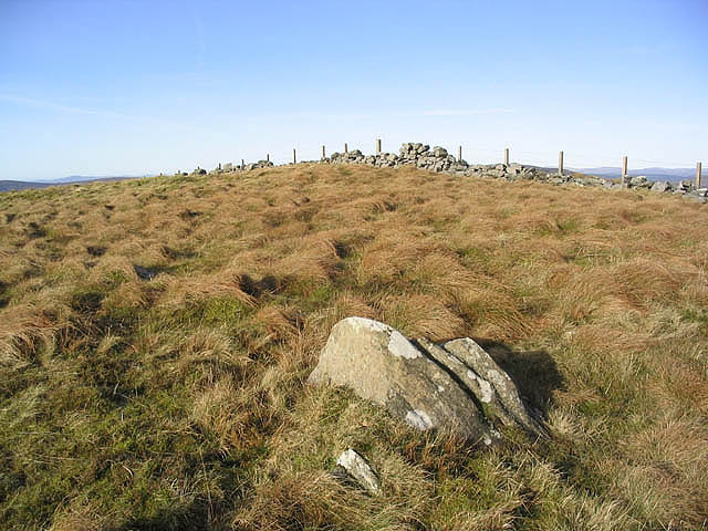 The summit area of Pike Fell