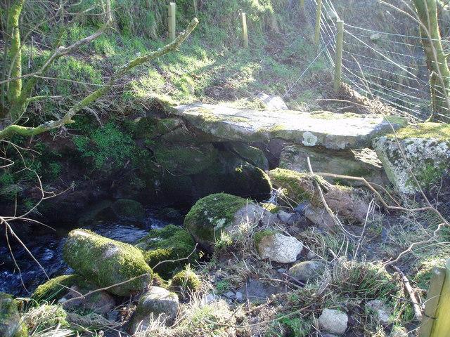 Stone footbridge