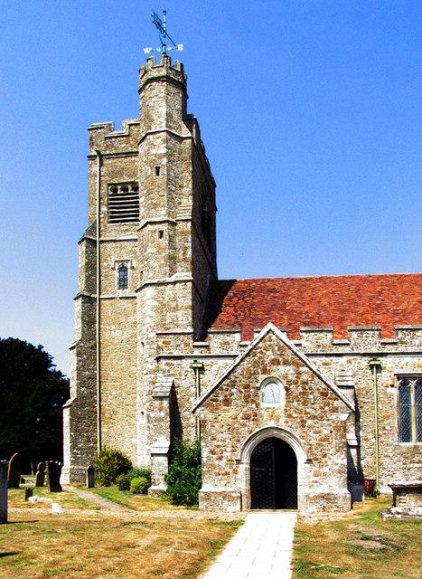 St John the Baptist, Harrietsham, Kent - Tower