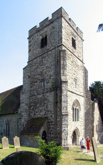 All Saints, Ulcombe, Kent - Tower