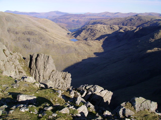 Looking North East from Lingmell