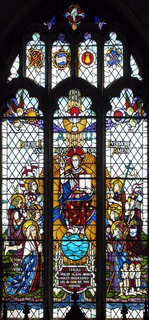 St Nicholas, Pluckley, Kent - East window