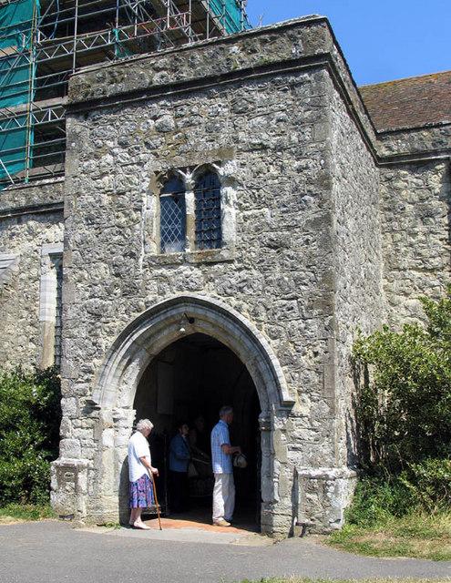 St Nicholas, Pluckley, Kent - Porch