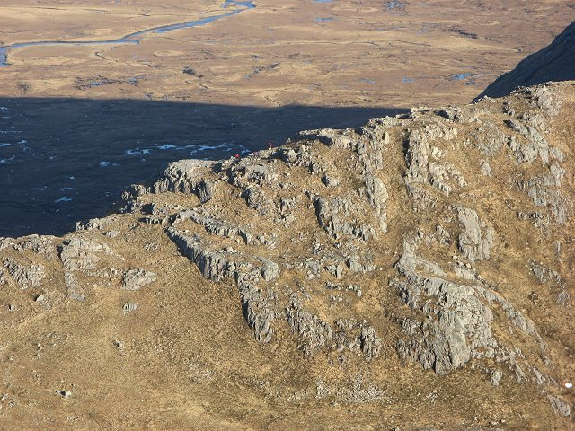 West ridge of Stob a' Choire Odhair