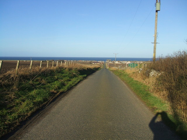 view from Smithy Croft to the sea