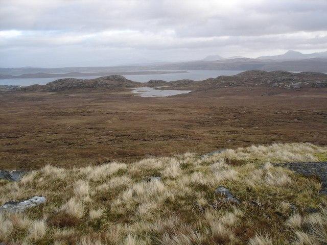 View to Loch a' Bhaid-shambraidh