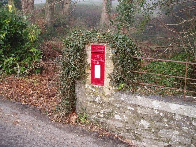 Postbox, Llanycil