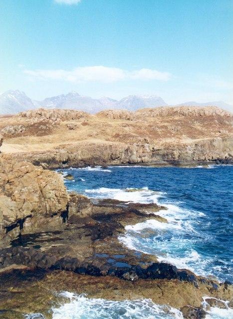 Coastline near Rubh an Dunan