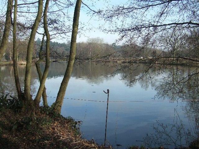 Lake at Old Bury House
