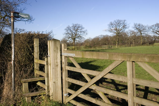 Stile, Gate and Footpath