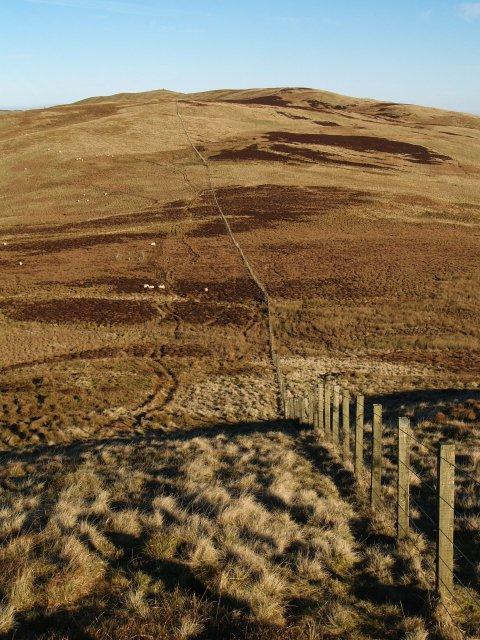 Boundary fence, Scar Hill