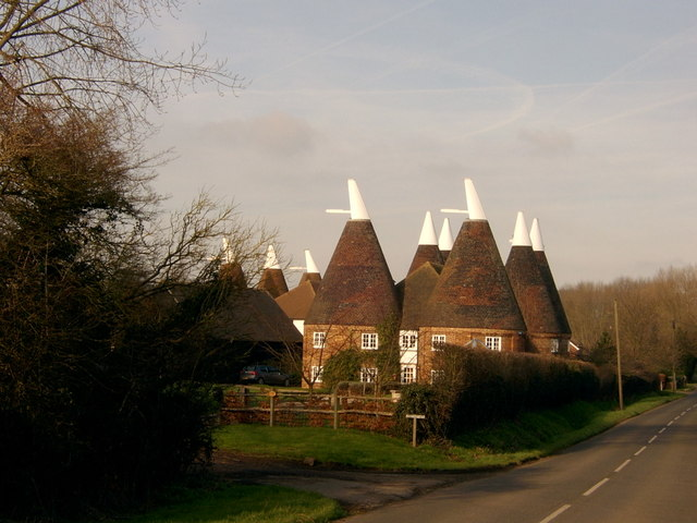 Oast Houses on Chainhurst Road
