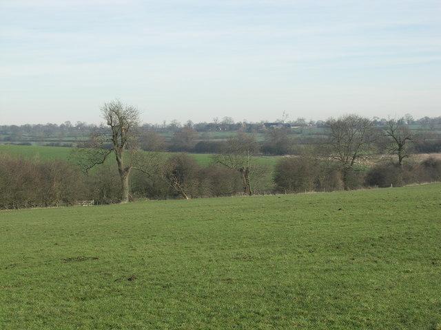 View towards Prince Rupert's farm