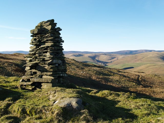 Cairn, Sundhope Height.