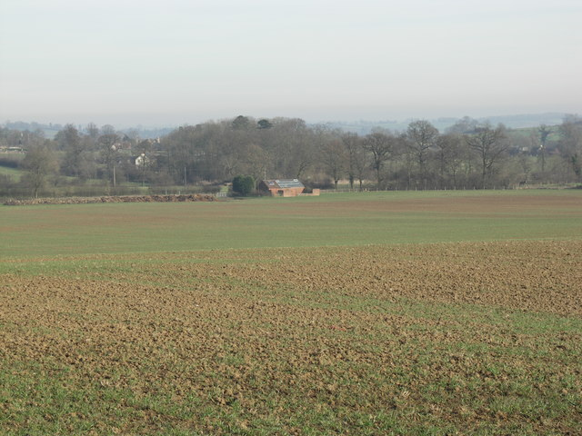 View to Barn Conversion.