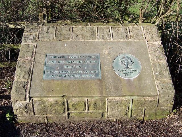 Land Reclamation Scheme plaque