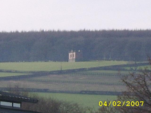 Valve House On Hillside