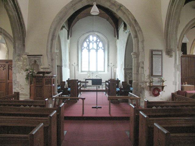 St Margaret, High Halstow, Kent - East end