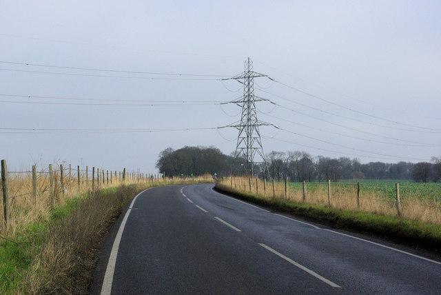 Lidsing Road and Pylon