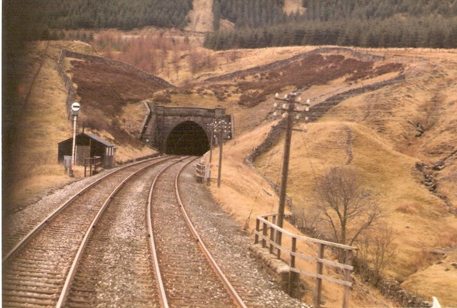 Blea Moor Tunnel mouth