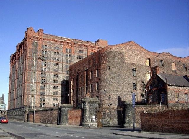 Tobacco warehouse, Stanley dock