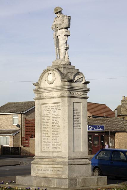War Memorial, Cottenham High Street