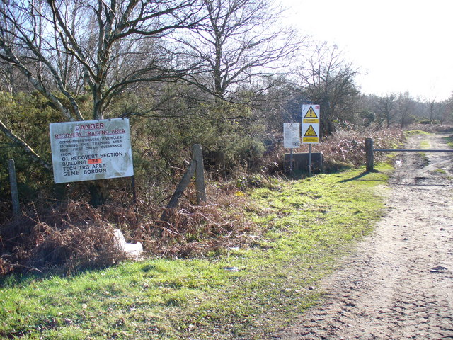 Military Training Area, The Warren, Bordon