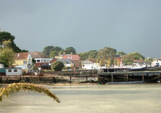 Hythe Foreshore viewed from the South East