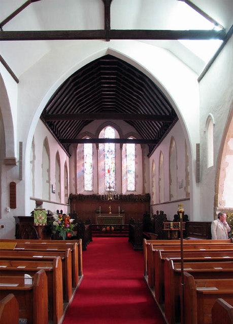 St Vincent, Littlebourne, Kent - East end