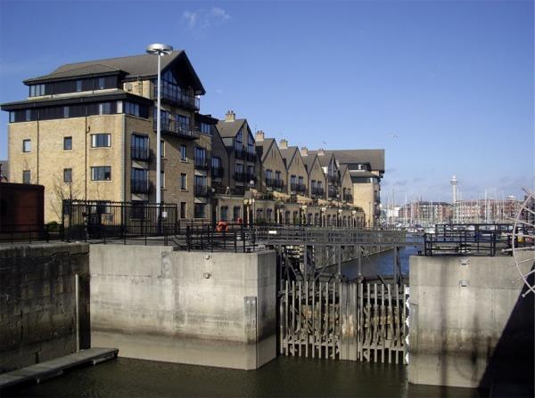 Brunswick Dock gates