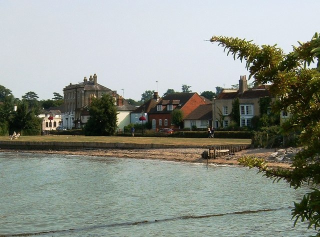 Prospect Place viewed from Hythe Marina