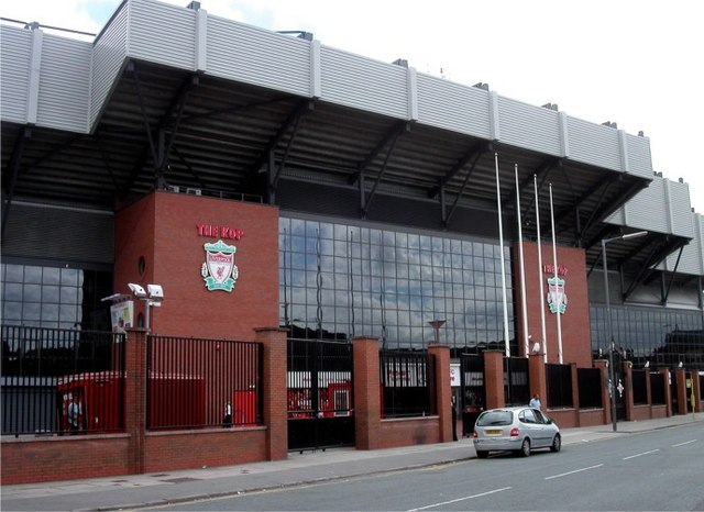 Liverpool FC, entrance to The Kop