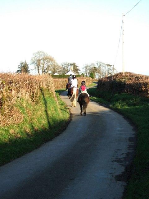 Lane to Norleigh Barton