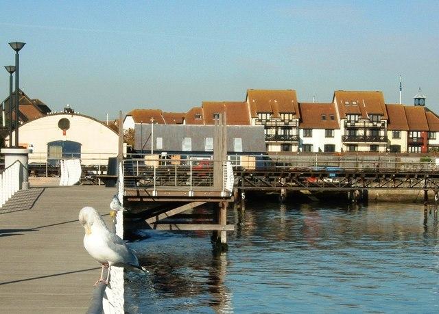 Hythe Foreshore Facing Hythe Marina