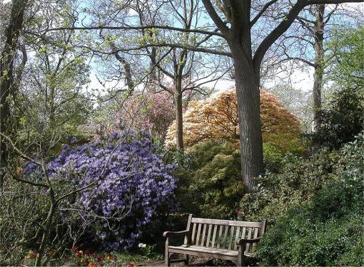 Calderstones Park, Old English Garden