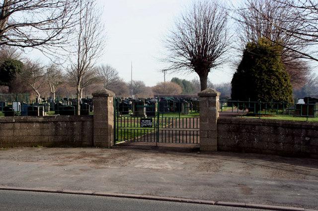 The Llay Cemetery